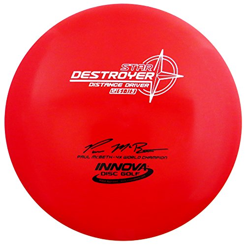 Innova Star Destroyer Disc Golf Paul McBeth 4X World Champion Distance Driver (Colors Will Vary)