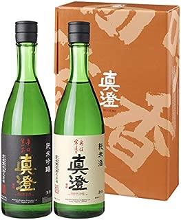 真澄 純米吟醸・純米酒 セット 720ml×2本 ギフトセット 飲みくらべ 純米吟醸/純米酒 宮坂醸造 日本酒ギフト