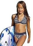LORIN Mädchen Bikini DP I (Muster-v1, 140)