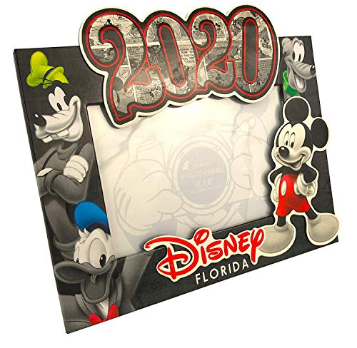 Disney 2020 Florida Mickey Mouse Picture Frame, 8 Inch
