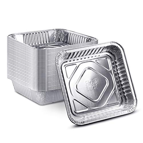 "[25 Pack - 8"" x 8""] Square Baking Cake Pans