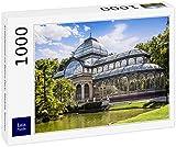 Lais Puzzle Palacio de Cristal en el Parque del Retiro, Madrid, España 1000 Piezas