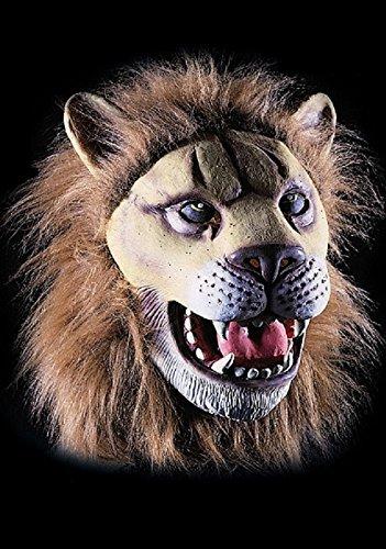 Masque de lion - Adulte - Taille Unique - Halloween - Latex - 1090