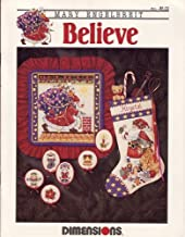 Believe Christmas Cross Stitch Chart