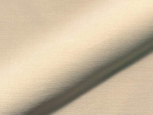 Raumausstatter.de Princess 5017 - Tela para tapizar (poliéster, Antimanchas), Color Beige