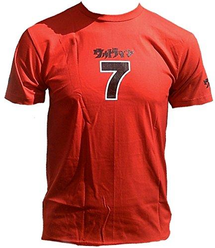 Uv Ultra Violent G5 cm07 T-Shirt Rot 7 Sept Sieben Nummer Nombre Asie Projet Japon Lucky Sport Club étoile Clubwear T-Shirt Must Have - - 46