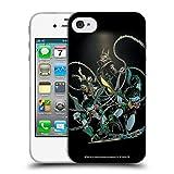 Head Case Designs Licenciado Oficialmente Batman DC Comics Batman Que ríe petirrojos rabiosos Los Caballeros Oscuros Carcasa de Gel de Silicona Compatible con Apple iPhone 4 / iPhone 4S