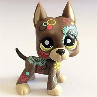 FINIMY Pet Shop Toys,Lps Toy Littlest Pet Shop Toy Cute Pet Shop Toys Powder Cat Big Dan Dog Small Animal Standing Action ...