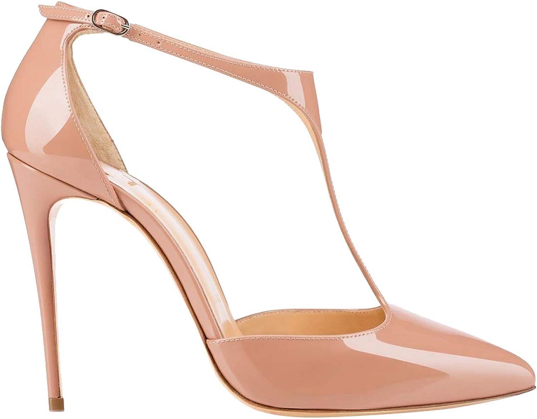 Zandina Ladies Handmade 10cm High Heel Pumps J-String Party Office Fashion Court shoes