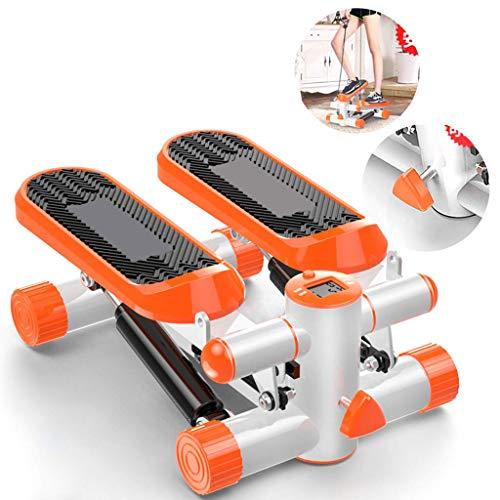 KFMJF Stepper Fitness Stepper para Mujer Y Hombre, Hogar Mudo Mini Escalador De Montaña Stovepipe Perder Peso Ejercitador De Pedal Hidráulico, Equipo De Ejercicios Paso A Paso con Monitor LCD