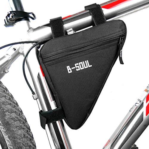 Lorenlli Fit B-Soul Impermeable Triángulo Ciclismo Bolsas de Bicicleta Tubo Delantero Bolsa Marco Porta Bicicleta Sillín Bolsa Manillar Bicicleta Accesorios