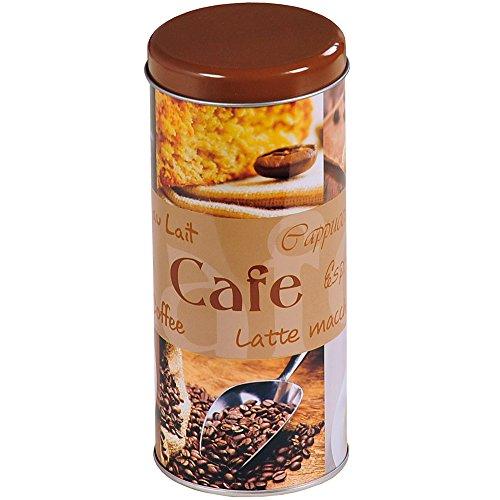 Kesper Aufbewahrungsdose, für Kaffeepads, silber, Küchendose, aus Metall, Höhe: 178 mm, Durchmesser: 78 mm, sortiert