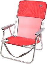 AKTIVE Klapstoel van aluminium rood