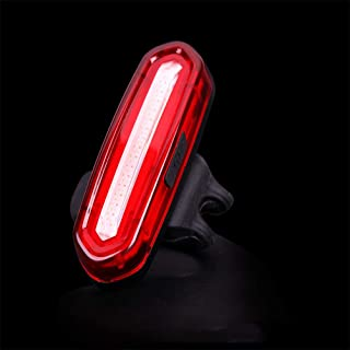 Rear Bike Light Powerful LED USB Rechargeable, Bike Back Light Waterproof Bicycle Taillight Combinations,For Helmet Safety Warning LED Mountain Tail Lamp Cycling Safety