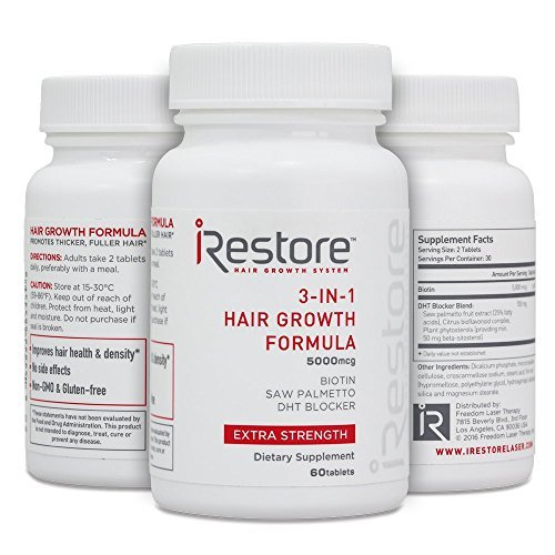 3-in-1 Hair Growth Supplement Review