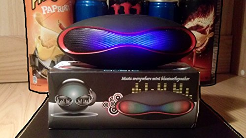 Mini Lautsprecher Rugby Bluetooth Lautsprecher Speaker Stereo Slot TF Card MP3Radio