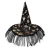 Gorros de bruja con velos para adultos, disfraz de bruja de Halloween para niñas, niños, bruja, sombreros de cosplay, diseño de telaraña, mago, disfraces de fantasía, gorras de fiesta, accesorios para