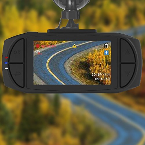 maisi 1296p HD Video and GPS Recorder Dashcam