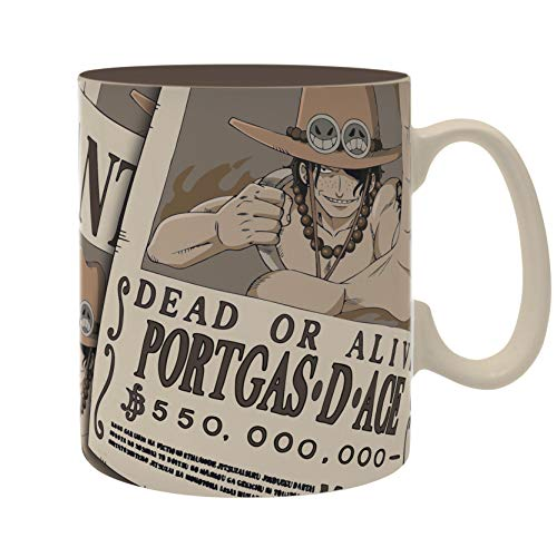 ABYstyle - One Piece - Tasse - 460 ml - Wanted Ace
