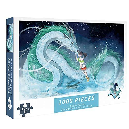 MOZX 1000 Piezas Puzzle, Rompecabezas Único para Adultos, Los Rompecabezas Familiares, Amigos Y Compañeros De Clase,2
