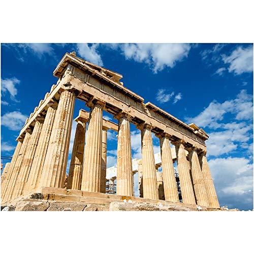 SANSHUI Jigsaw Puzzle Mitología Griega Edificio Parthenon 500-6000 Piezas De Madera Dificultad Adultos Niños Juguetes Diversión Infierno 0618 (Size : 3000pieces)