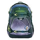 """coocazoo Schulrucksack ScaleRale """"OceanEmotion Galaxy Blue"""", blau, ergonomischer Tornister, höhenverstellbar mit Brustgurt und Hüftgurt, ab der 5. Klasse"""