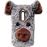 LeEco Le 2 Pro/S3 Art Case, Handmade Fluffy Villi Dog Baby