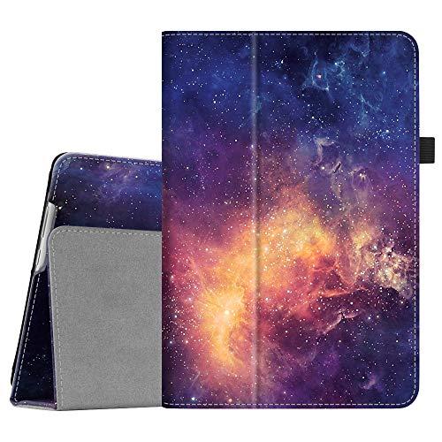 Fintie Hülle Case für Huawei MediaPad M5 Lite 10 - Ultra Schlank Folio Kunstleder Schutzhülle mit Auto Sleep/Wake Funktion für Huawei MediaPad M5 Lite 10 10.1 Zoll 2018 Tablet PC, Die Galaxie