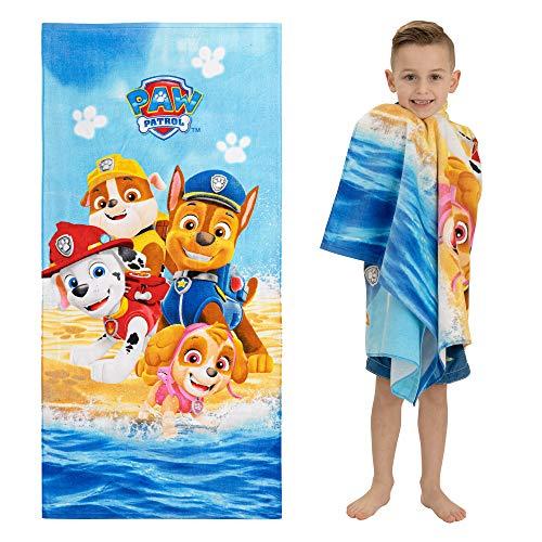 Franco Kids Super Soft Cotton Beach Towel, 28' x 58', Paw Patrol