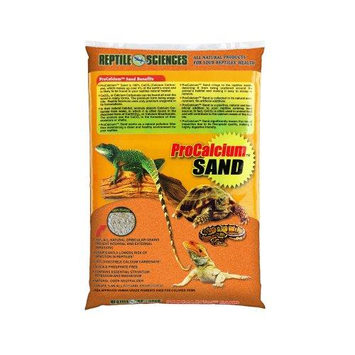 Reptile Wissenschaften Terrarium Sand, 10-Pound, orange