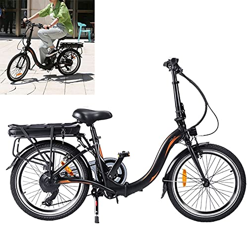 Bicicleta electrica Plegable Conduce a una Velocidad máxima de 25 km/h. Bicicleas...