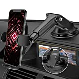 Soporte Móvil Coche, Mpow Soporte para Automóvil 3 en 1, Soporte para Teléfono Móvil Mejorado para Ventilación de Aire del Parabrisas del Salpicadero de Automóviles para iPhone 12/ 11/ 8/ Galaxy S20