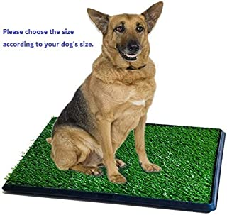 Synturfmats Pet Potty Patch Training Pad for Dogs Indoor or Outdoor Use, 3 Pieces Puppy Training Pad Dog Relief System