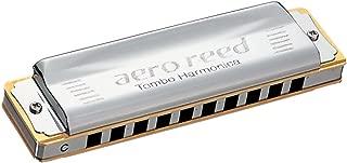 TOMBO Aero Reed Key of C 10 holes Harmonica