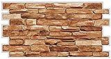 Paneles de pared de PVC 3D decorativos revestimientos - Carelio (10 unidades / 4,9 m²)