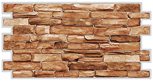 Paneles de pared de PVC 3D decorativos revestimientos - Carelio (10, 4,9 m2)