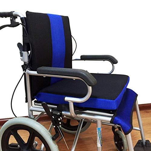 QIANGGAO Rollstuhlkissen Anti-Dekubitus Rückenkissen, Rückenkissen Wabenkissen Atmungsaktiv Komfort Rollstuhl Rücken Oxford Stoffkissen, (41 * 45 * 4 cm)