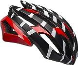 BELL Stratus MIPS Adult Road Bike Helmet - Vertigo Matte/Gloss Black/Red/White (2021), Large (58-62 cm)