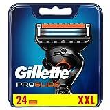 Gillette ProGlide - Cuchillas de afeitar para hombre con cortador de precisión, paquete de 24 cuchillas de recambio