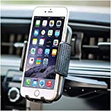 BESTRIX Cell Phone Holder for Car , CD Slot Car Phone Holder, Hands Free Car Mount with Strong Grip Universal for iPhone, 11/11Pro/Xs MAX/XR/XS/X/8/7/6 Plus, Galaxy S10/S10+/S10e/S9/S9+/N9/S8