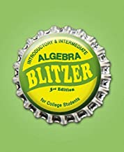 Introductory & Intermediate Algebra for College Students
