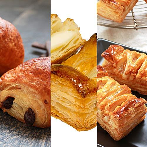 セット 発酵不要のお手軽冷凍生地3種セット ミニパンオショコラ ミニクリームチーズとブルーベリーのパイ ミニアップルパイ