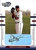2004 Donruss World Series Signature #164 Dewon Brazelton #d/25 AUTO - NM-MT
