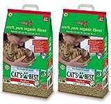 Cat's Best 2 x 30L Okoplus Clumping Cat Litter Multibuy