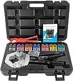 Crimper tubo idraulico Hydra-Krimp 71500, manuale di istruzioni A/C, kit di riparazione dell'impianto di condizionamento idraulico manuale (7842-black)