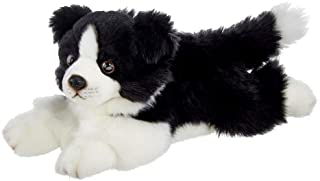 Bearington Shep Plush Border Collie Suffed Animal Puppy Dog, 33cm