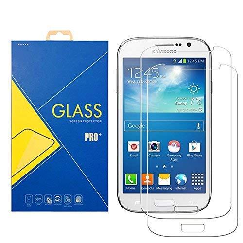 [2 Pack] Pellicola Vetro Temperato Compatibile Samsung Galaxy Grand Neo / Grand Neo Plus ( GT-I9060 / I9060i / 9060 / I9080 / I9080i / 9080 ) - Schermo Antiurto Antigraffio