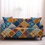 IUYJVR Housses de canapé housse de canapé Motif Mandala housses de canapé canapé Serviette meubles de Salon Fauteuil, 2, monoplace