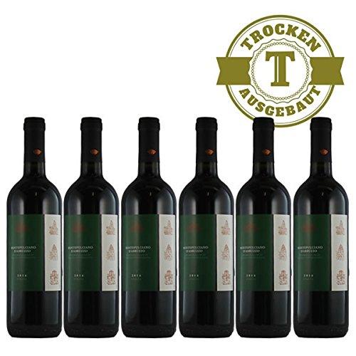 Rotwein Italien Montepulciano d´Abruzzo trocken (6x0,75l)
