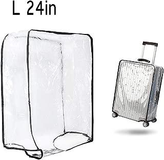 "1PCS Luggage Cover Suitcase Cover Transparent Protectors Case for 20""24""28""30""(L)"
